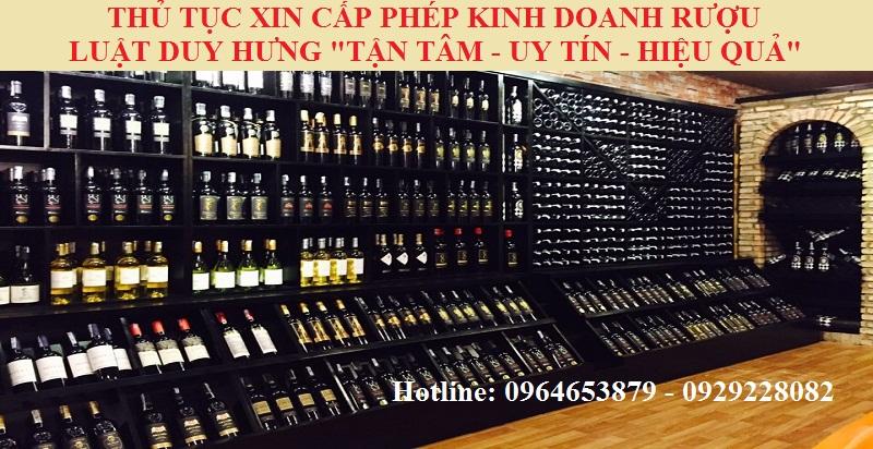 Cấp Giấy phép bán buôn rượu: